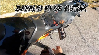 IZGOREO MI JE MOTOR... MY MOTORCYCLE CAUGHT ON FIRE 2020 KTM 1290 SUPER DUKE R