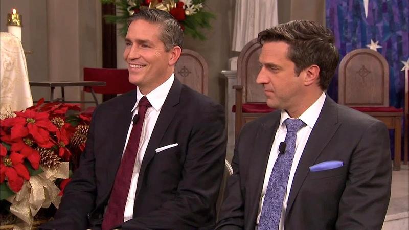 Jim Caviezel Raul Esparza Talk About Christmas