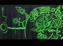 Роспись стен для «Шоу в темноте»
