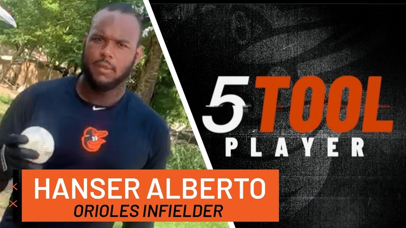 Hanser Alberto's Batting Drills to Improve Your Swing: 5-Tool Player Series | Baltimore Orioles