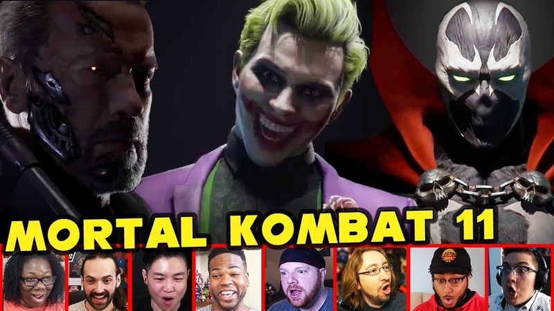 Reactors Reaction To THE JOKER Being Added To MK11 | Roster Reveal (SPAWN | TERMINATOR T-800)