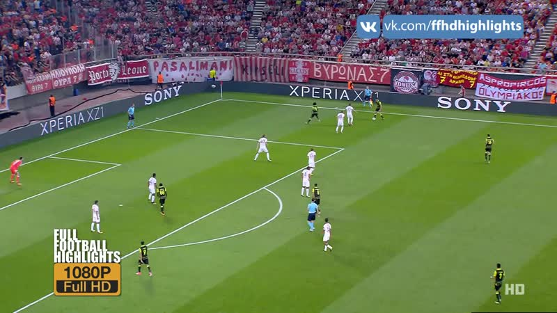 UCL 2017/18 - 1 Matchday - Olympiacos FC - Sporting CP 1080 HD Highlights