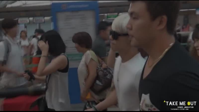 130802 Handsome Jonghyun focus @ Incheon Airport to Sapporo take me out