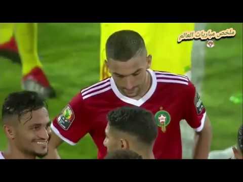 ملخص مباراة المغرب وبنين 1 1 ضربات الترجيح خ 1585