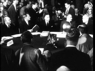 Big-4 Meeting In Paris Build-Up Story Including Gen Clay Welcomed Home (1949)