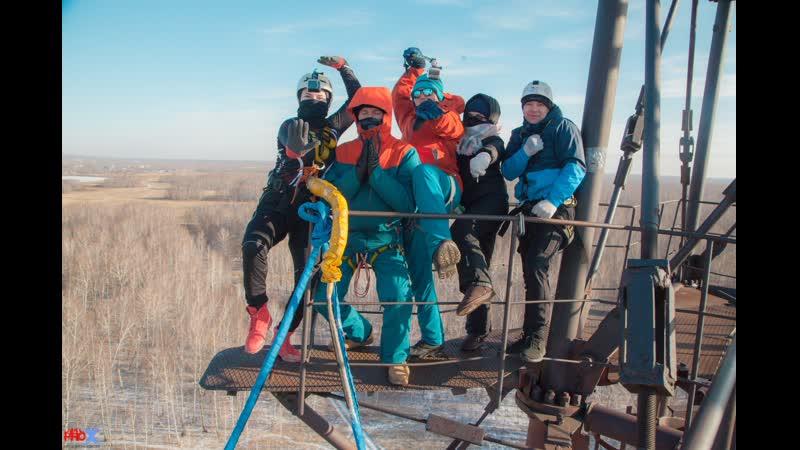 Lubov L. прыжок FreeFallProX команда ProX74 объект AT53 Chelyabinsk 2019 1 jump RopeJumping