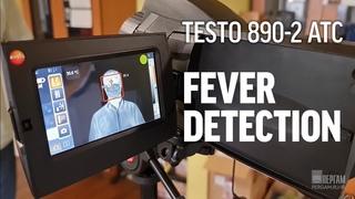 Инструкция по работе с функцией определения температуры тела Fever Detection — testo 890-2 ATC