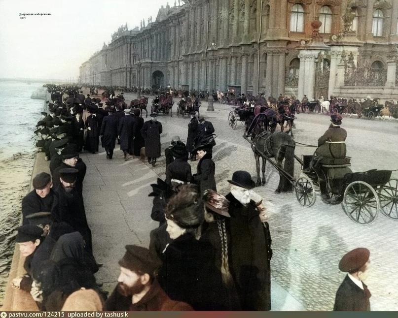 Эксклюзивные цветные фотографии Петербурга начала 20 века, изображение №1