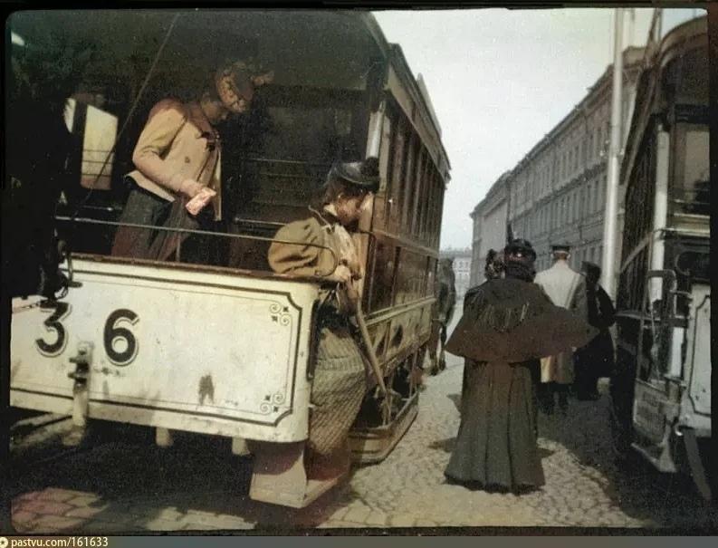Эксклюзивные цветные фотографии Петербурга начала 20 века, изображение №2