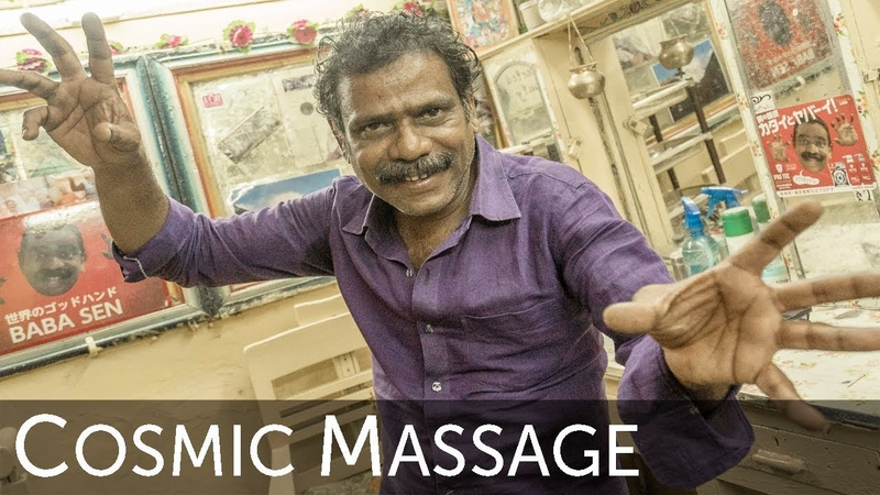 The Best World's Greatest Head Massage with Baba Sen the Cosmic Barber Full Uncut Experience