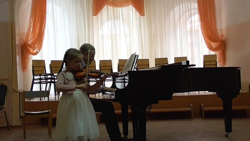 Демурчева София, 5 лет Концерт Ридинга 1 часть