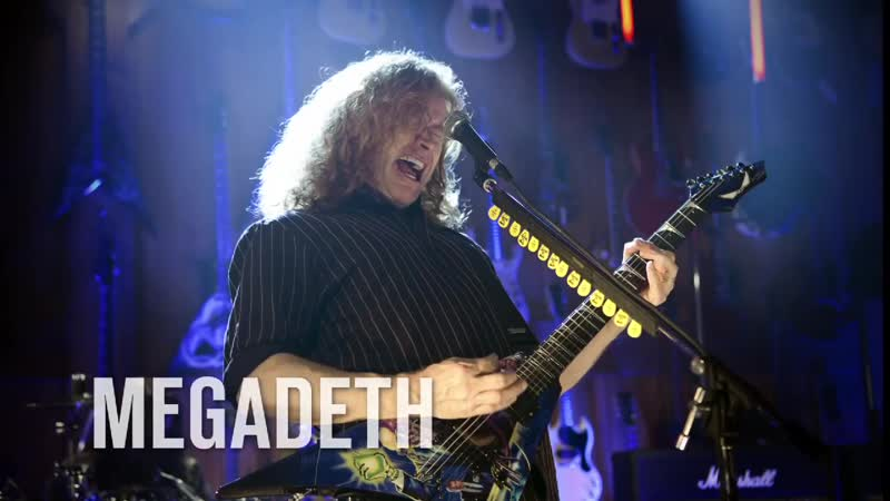 Megadeth Trust Guitar Center Sessions on DIRECTV