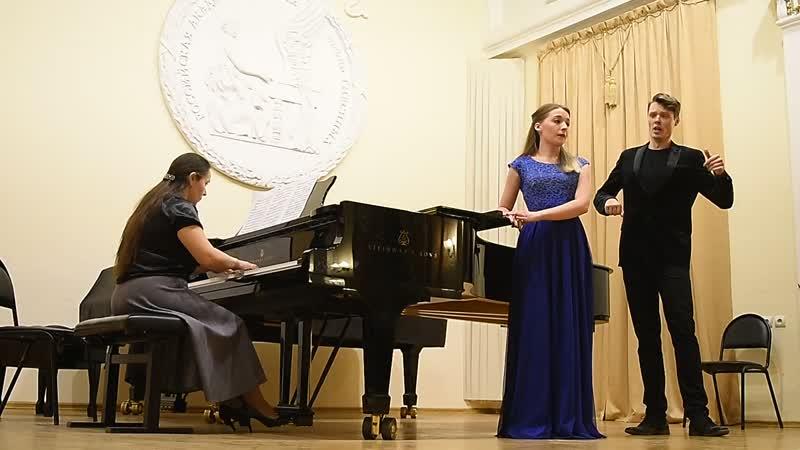 Моцарт. Дуэт Дон Жуана и Церлины. Исп. М.Кузнецова и А.Шарапов