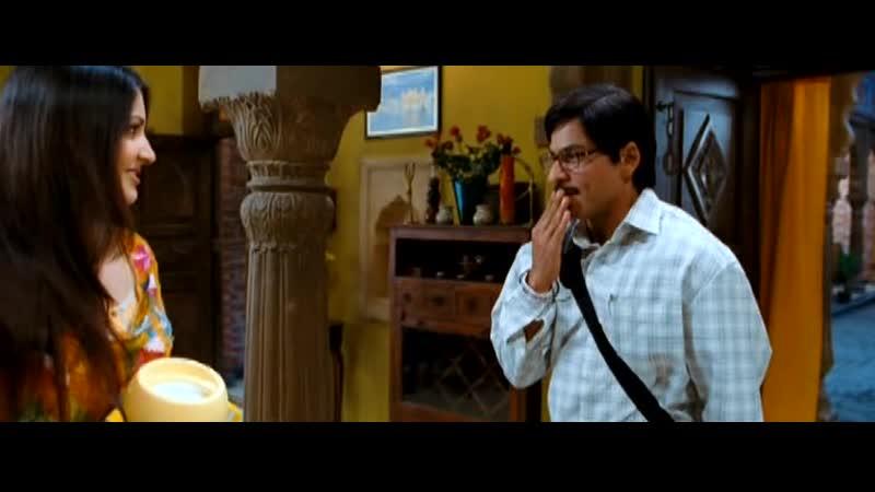 Шахрукх Кхан как всегда неподражаем очень смешной отрывок из фильма Эту пару создал бог