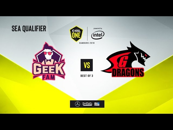Geek Fam vs SGD, ESL One Hamburg 2019 QL, bo5, game 2 [Mortalles]