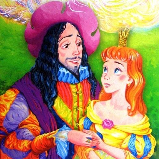 постеры король дроздобород тематической