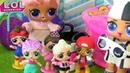 МУЛЬТИК ЛОЛ! Куклы ЛОЛ сюрприз LOL SURPRISE сборник смешных серий видео для детей