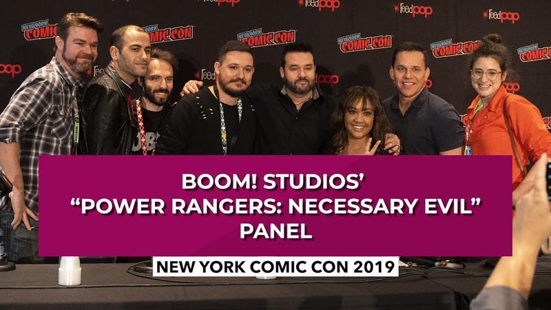 Boom! Studios Power Rangers Necessary Evil Panel | New York Comic Con 2019