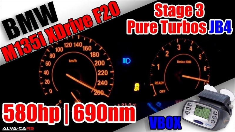 ⭐2012 BMW M135i XDrive 580hp690nm JB4 Stage 3 Pure Turbos VBOX⭐
