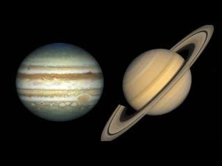 Сказка: как юпитер заехал на хату к сатурну