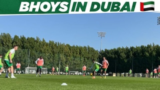 High intensity workout for the Bhoys on Day 2 of Celtic's winter training camp