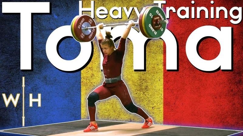 Toma Loredana (64) 120kg Complex Heavy Snatches   2020 Roma World Cup