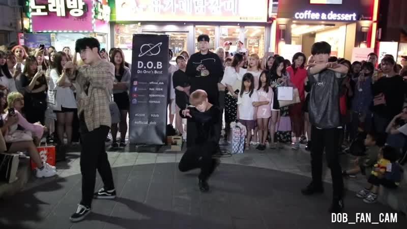 DOB 디오비 190617 홍대공연 1차 EXO 엑소 love shot 러브샷