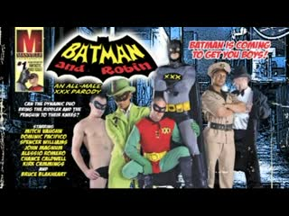 Batman and Robin XXX Gay porn Movie
