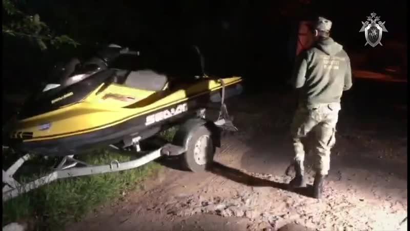 Следователи работают на месте происшествия в Кимрах