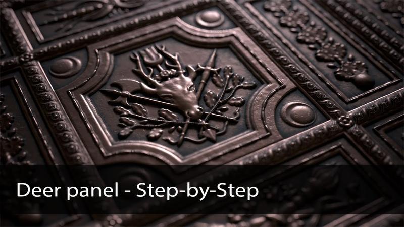 Deer Panel Substance Designer Step by Step