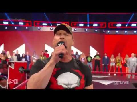 WWE Raw Stone Cold Returns Full Promo Segment 22nd July 2019