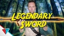 Saving the world can be quite expensive Legendary Sword