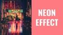 CSS фича 3 Анимация изображений неоновый эффект