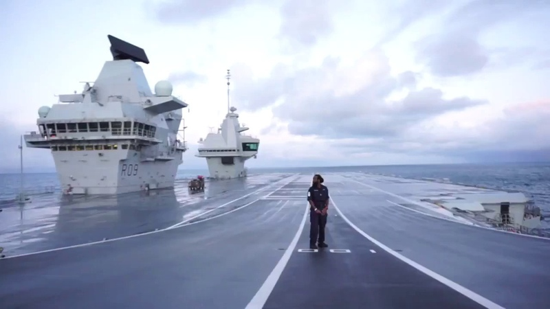 A day in the life of Logistician/PT instructor on board HMS Prince of Wales