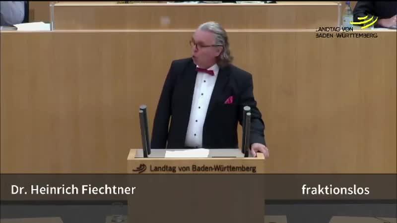 Dr. Fiechtner nennt die Verantwortlichen für die Stuttgarter Randale und fliegt erneut aus dem Parlament