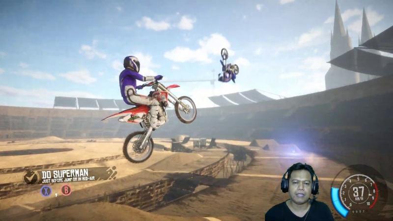 MX Nitro 4 Junior League FX Arena Nomer satu Balapan Motor Trail Seru Unleashed Gameplay