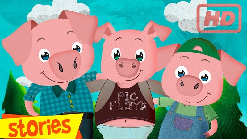 THREE LITTLE PIGS story for children Clap Clap Kids fairy tales and songs for kids