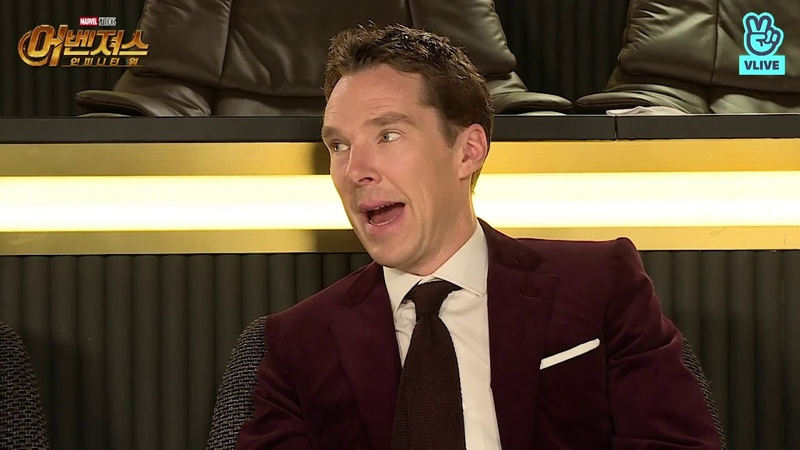 HD full version Benedict Cumberbatch Tom Hiddleston and Tom Holland on Korean TV show