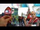 Кирпич футбольных 100 рублей к Чемпионату Мира FIFA 2018 в РФ красивый номер изъят на ГоЗнаке