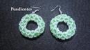 DIY - Pendientes en forma de rosquilla DIY - Donut Shaped Earrings
