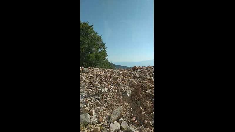 Дорога на г Бабадаг Турция июнь 2019 г