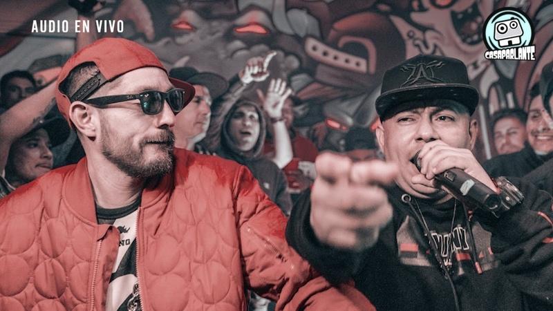 CASAPARLANTE Tiro de Gracia ZATURNO LENWA DURA Check the sound Joven de la pobla EnVivo