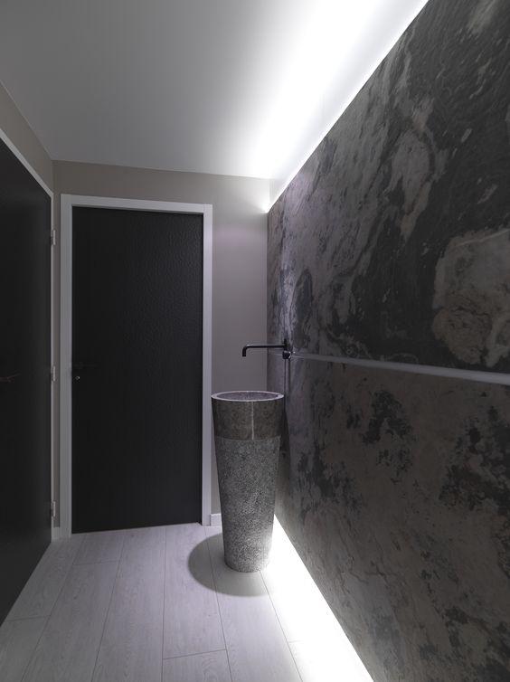 Идеи использования каменного шпона