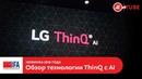 IFA 2018: обзор технологии AI ThinQ от LG