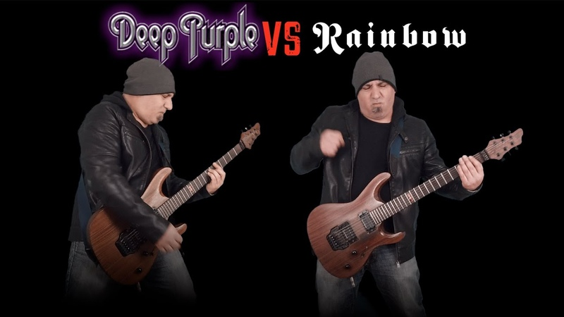 Deep Purple VS Rainbow (Guitar Riffs Battle)