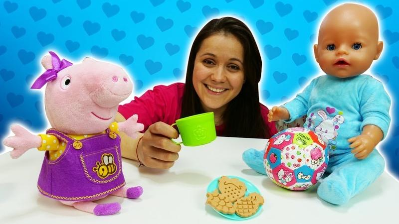 Planchamos el vestido de Peppa Pig Vídeos de juguetes para niñas Peppa Pig de juguete