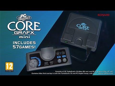 PC Engine Core Grafx mini: Features Video