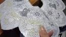 Punto Maglie lavorazione del merletto