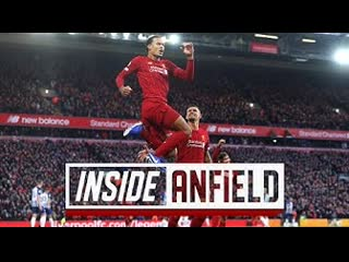 Inside anfield liverpool 2-1 brighton   exclusive behind-the-scenes tunnel access