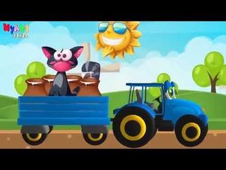 Едет трактор Синий трактор!МУЛЬТИК МУЛЬТФИЛЬМ РАЗВИВАЮЩИЕ МУЛЬТФИЛЬМЫ